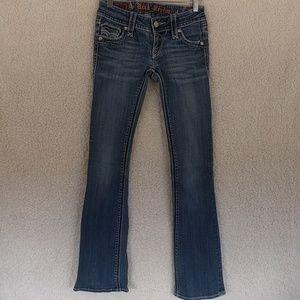 Rock Revival Annie Bootcut Jeans Sz 25